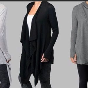 LULULEMON cardigan wrap sweater. Worn twice